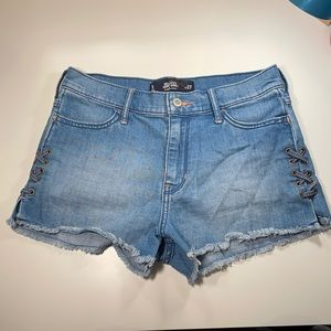 Hollister high rise Jean shorts
